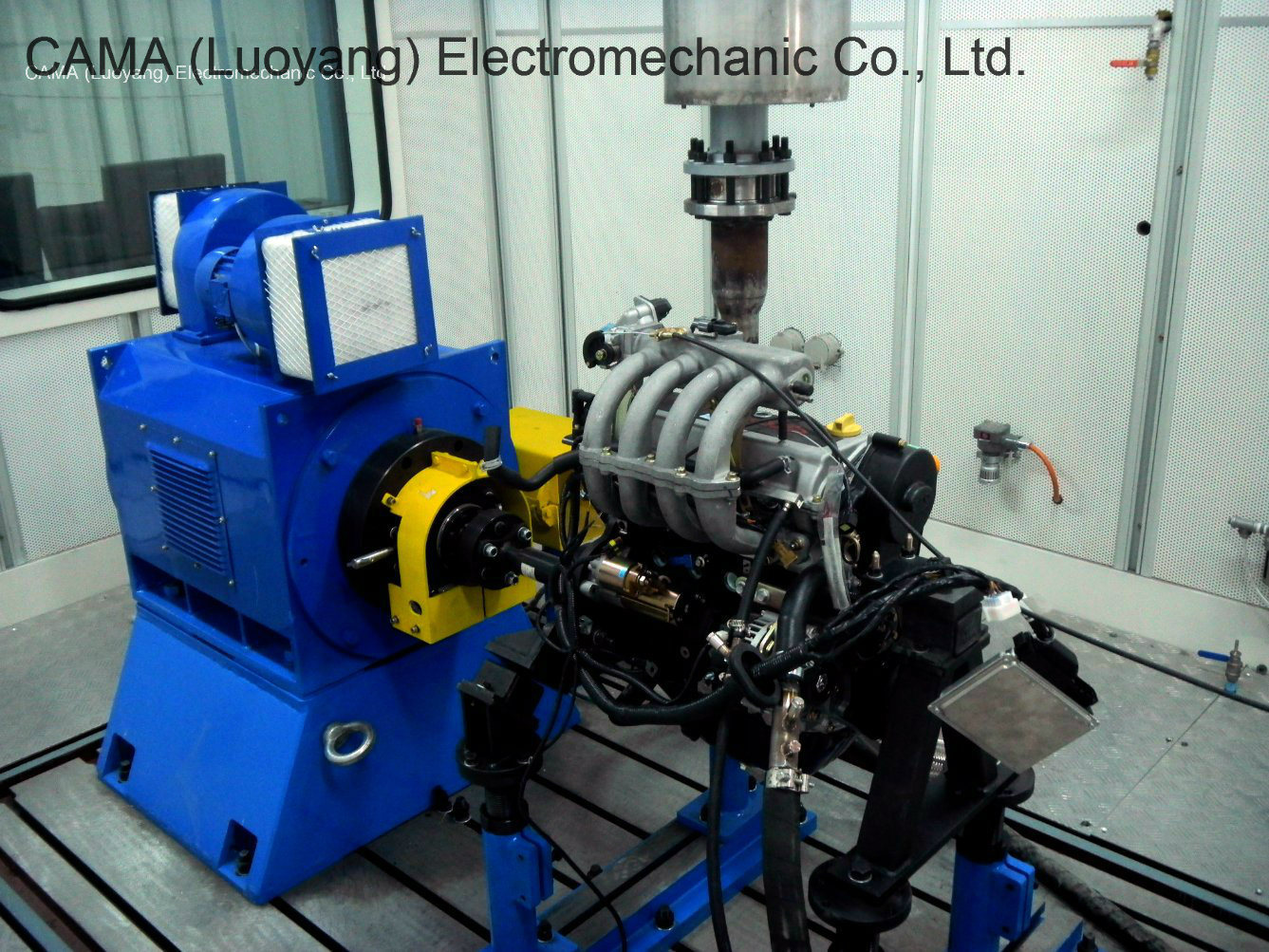 AC Electric Dynamometer for Engine / Motor / Gearbox Loading Test