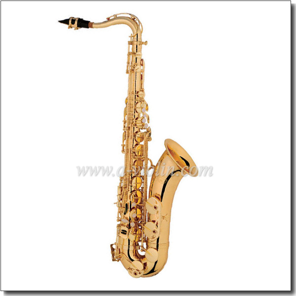 Yellow Brass Body Eb Key Wholesale Chinese Saxophone (SP0031G)