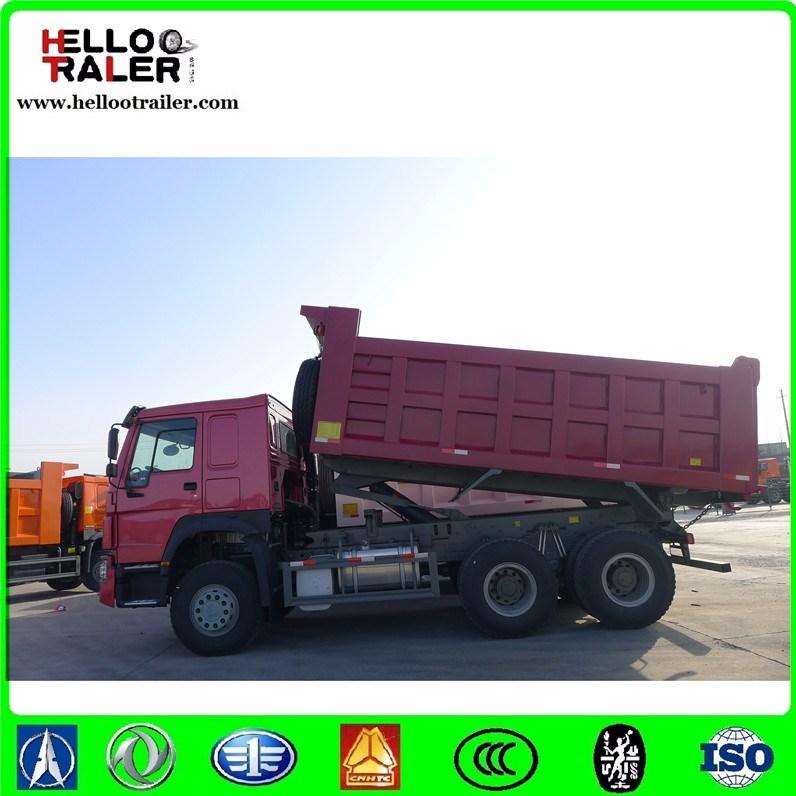 Horsepower off Road Transportation 10 Wheel Mining Tipper Dump Truck