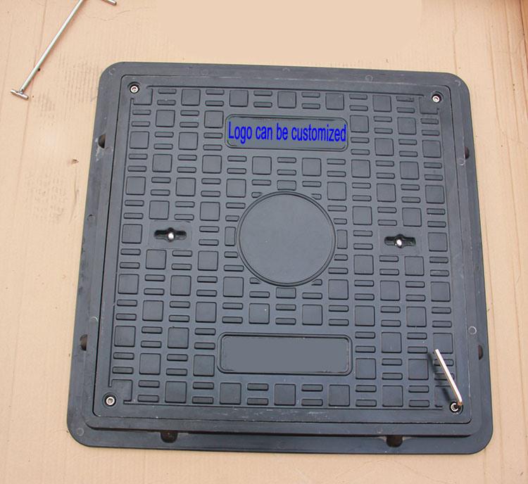 Zibo Best En124 SMC Composite Square Manhole Cover