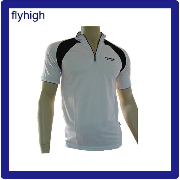 Custom Made Polo Shirt with Zipper