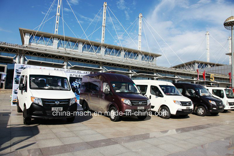 Dongfeng 136HP Yufeng Closed Cargo Van Cargo Bus