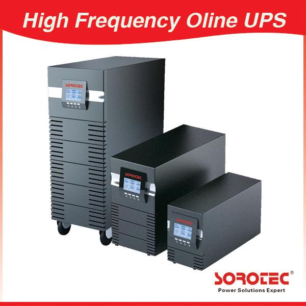 Large LCD Online UPS 1/2/3/6/10/15/20KVA