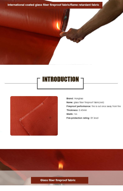 Heavy Duty Fireproof Fabric Tarpaulin/Tarp for Cover