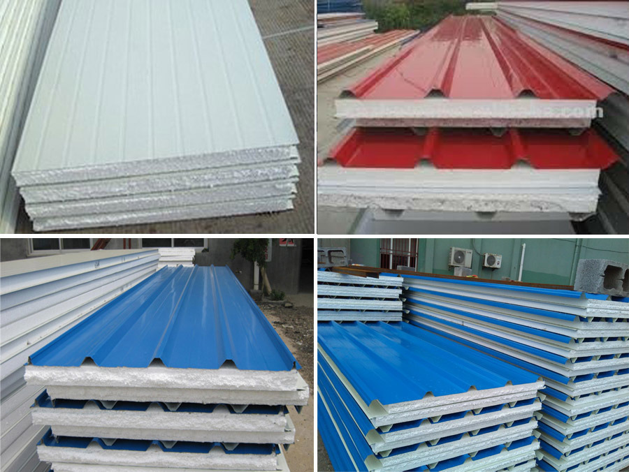 Eps Foam Roof Panels : China high strengthen flame retardant foam eps sandwich