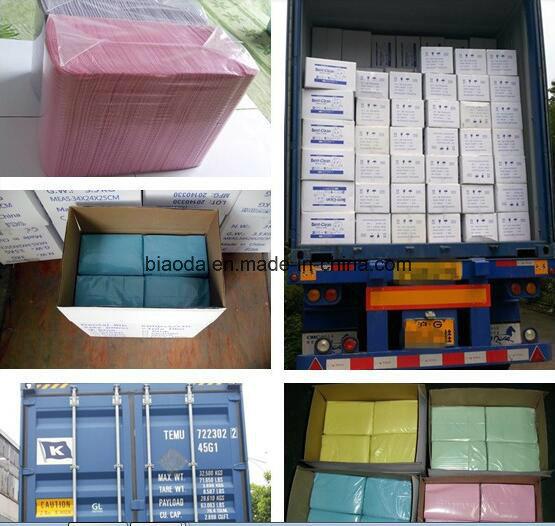 OEM Disposable Colorful Dental Bibs for Adult or Children 33*45cm, 3 Ply, 500PCS/CTN