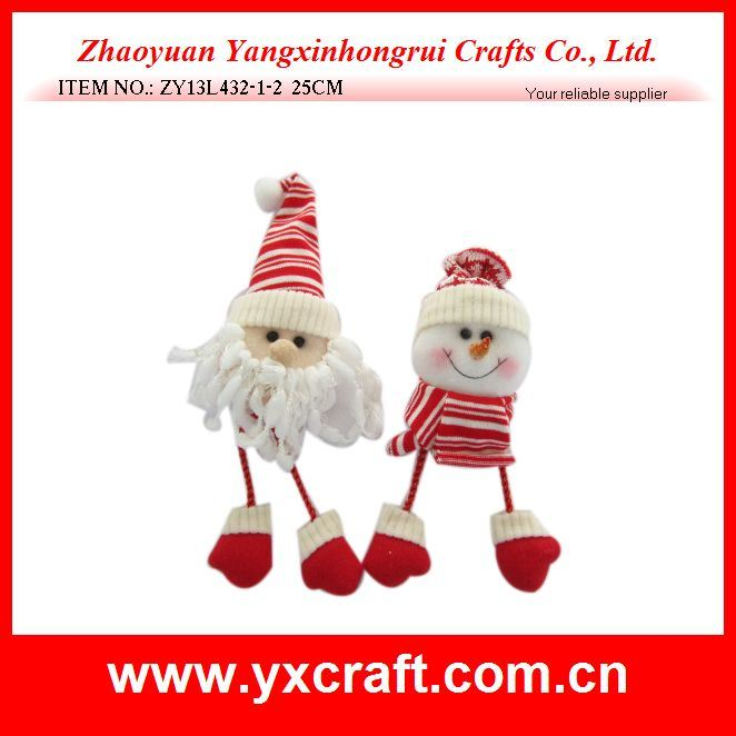 Christmas Decoration (ZY13L432-1-2 25CM) Christmas Indoor Outdoor Decoration