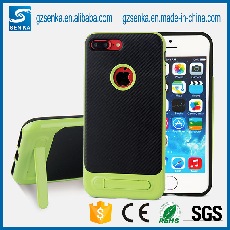 3 in 1 Unbreakable Kickstand Phone Case for Samsung S6