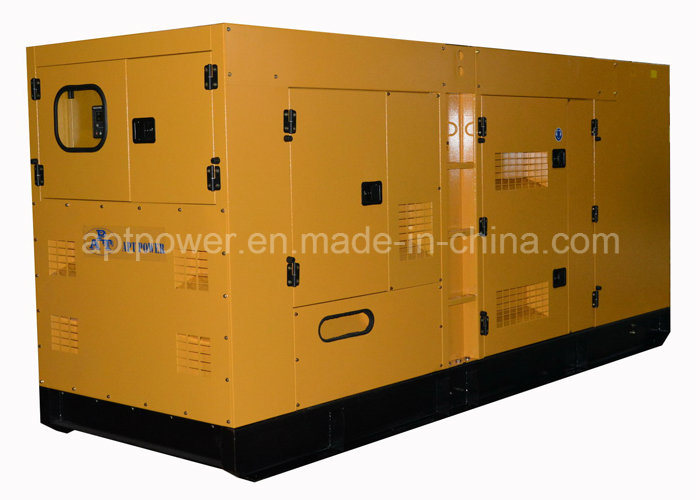 225kVA Soundproof Standby Silent Diesel Generator with Stamford Alternator