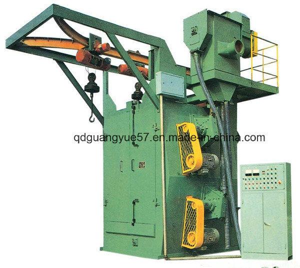 Q378 Hook Type Shot Blasting Machine with Ce ISO