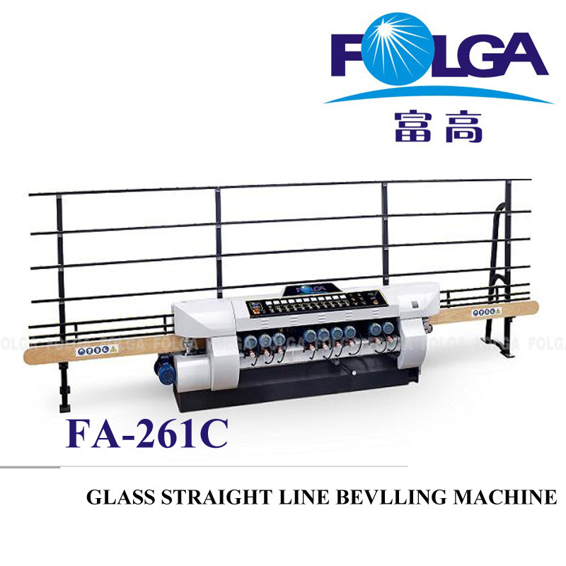 Glass Straight Line Beveling Machine (FA-261C)