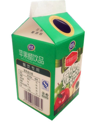 500ml Apple Vinegar Beverage/ 6-Layer Juice Carton