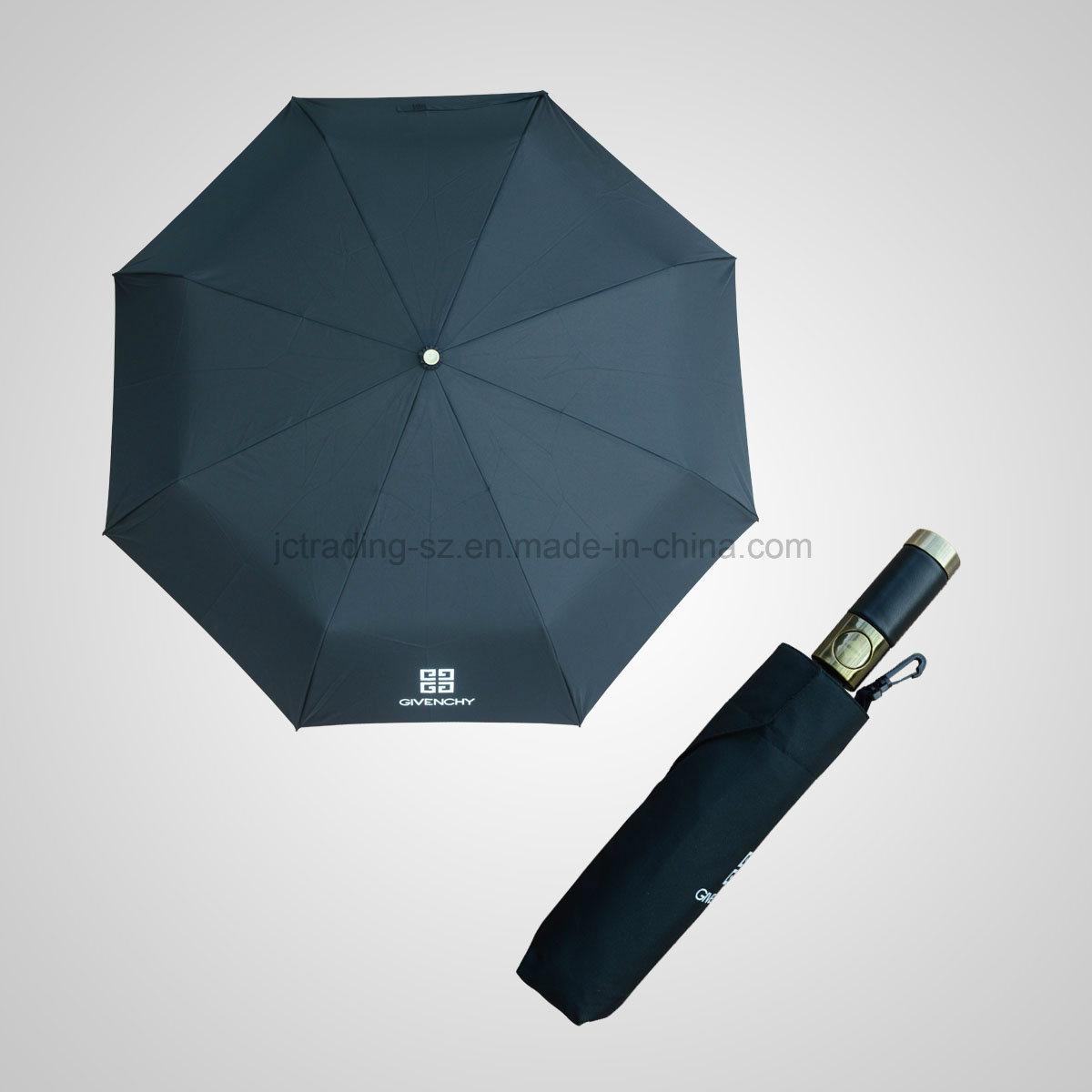 High Quality 3 Fold Automatic Open&Close Fashion Sun/Rain Umbrella (JF-AGV301)