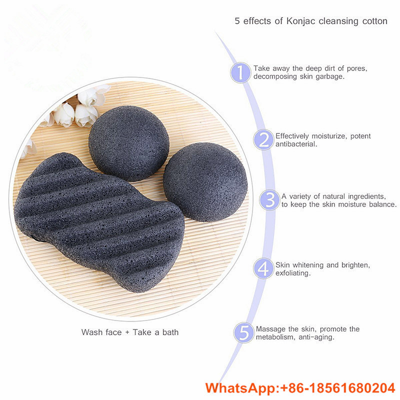 100% Natural Vegetable Konjac Sponge