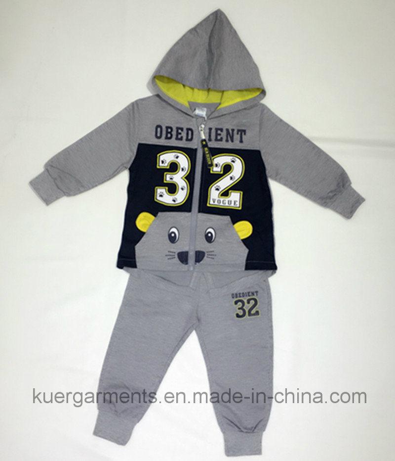 Cute Kids Boy Sports Wear Suit in Kids Clothes