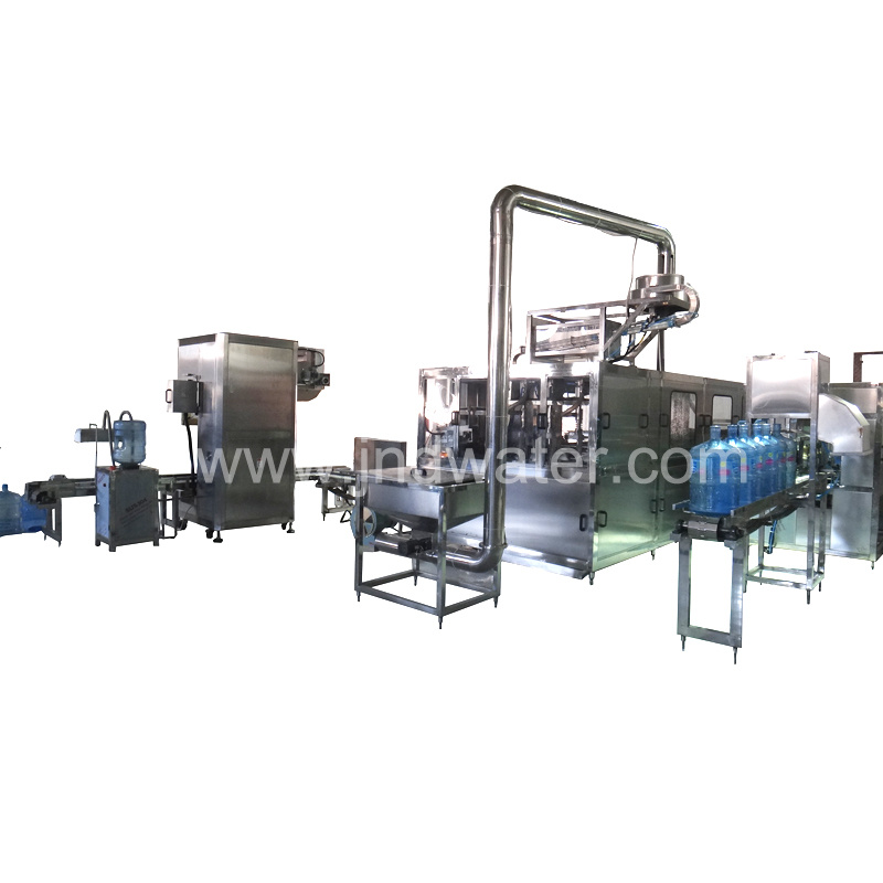 Automatic 18.9L / 5 Gallon Bottle Water Filling Machine (450 BPH)