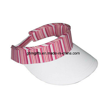 100% Cotton Twill Sunvisor Cap Embroidery Sun Visor Cap