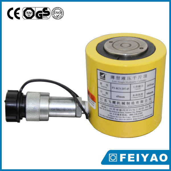 Hydraulic Jack 25 Ton Rcs Series High Quality Low Height Single Acting Hydraulic Cylinder