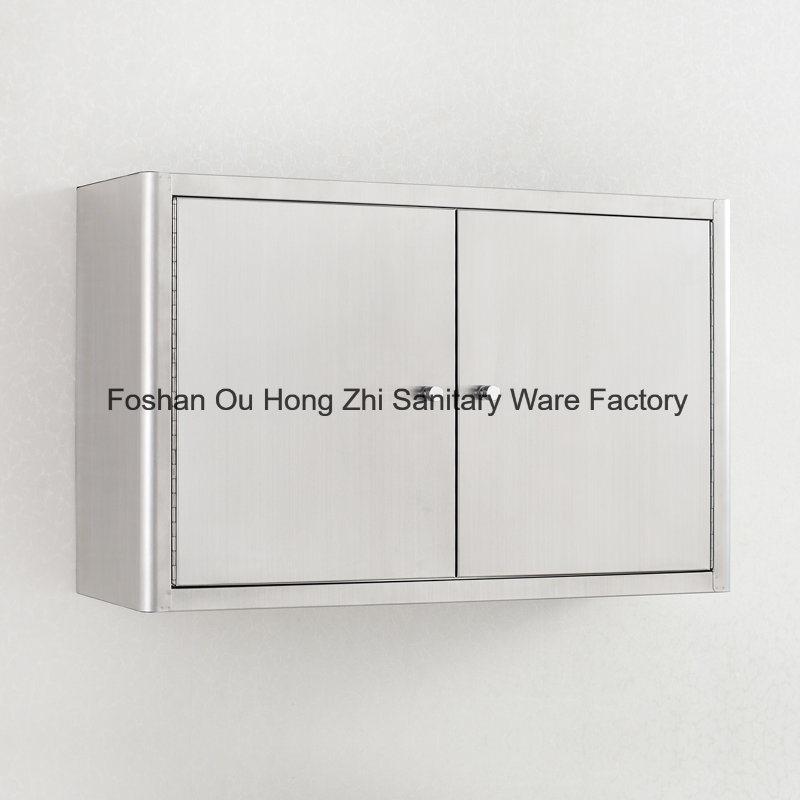 Modern Glossy Stainless Steel 304 Kitchen Cabinet Furniture