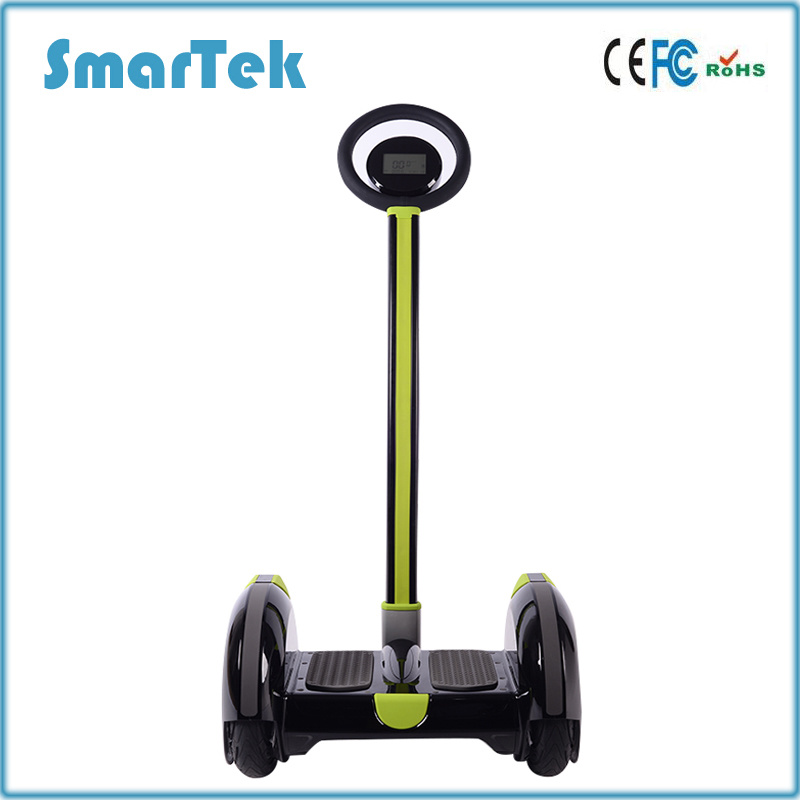 Smartek 14 Inch Two Wheel Electric Standing Segboard Scooter Hoverboard with Handle Bar Hover Board Electronic Scooter Patinete Electrico S-015