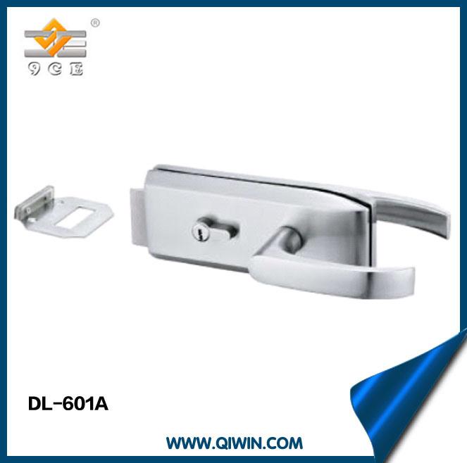 Zinc Alloy Single Door Lock of Glass Door Hardware (DL-601A)