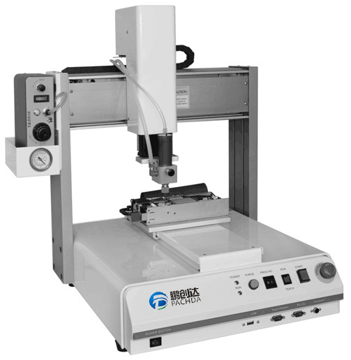 Desktop Glue Dispensing Robot for Underfill Process