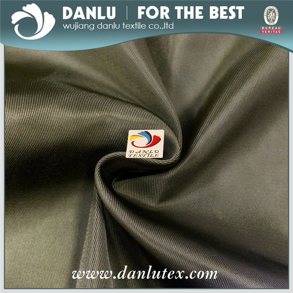 2/2 Twill Polyester Waterproof Imitated Memory Fabric for Jacket