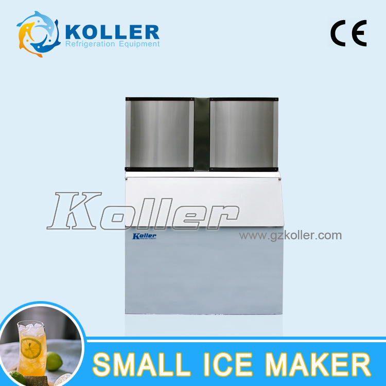 Crystal and Sanitary Cube Ice Maker for Commercial Use