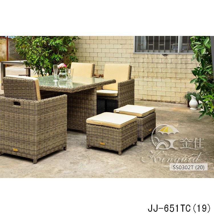 PE Rattan Furniture, Outdoor Furniture Jj-651