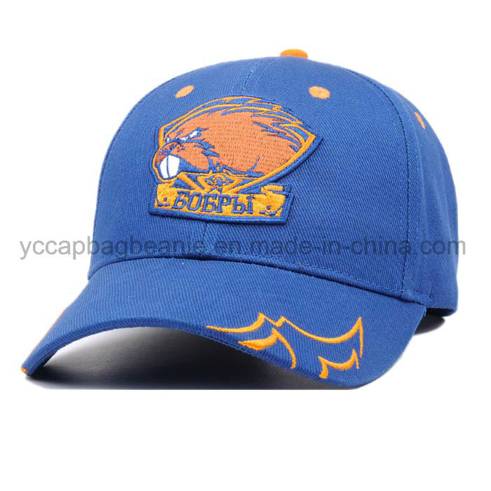 Wholesale 100%Cotton 6 Panel Cotton Golf Baseball Cap