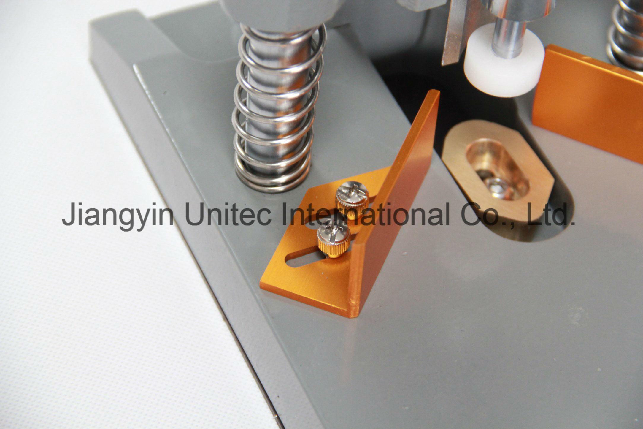 Qy20 Best Selling Desktop Office Manual Corner Cutting Machine