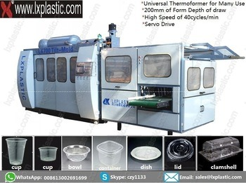 Tilt-Mold Cup Thermoforming Machines