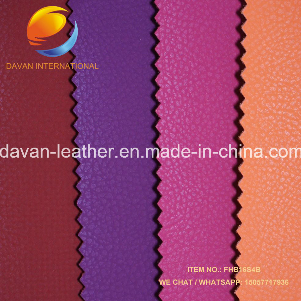 2016 Fashion Artificial Leather Silky Velet for Shoes Bags