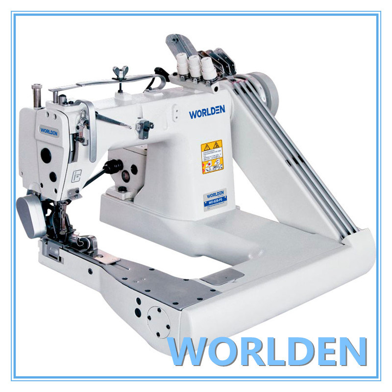 Wd-928-PS High Speed-Feed-off-The-Arm Chainstitch Machine (Three Needle)