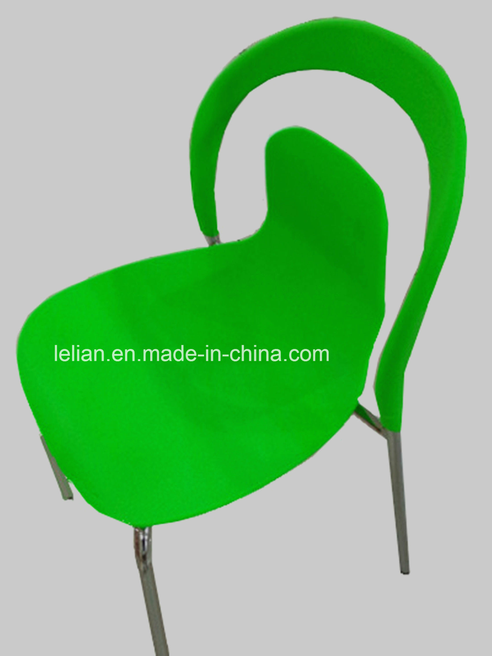 Slim Lighting Colorfu Plastic Stacking Chair (LL-0035)