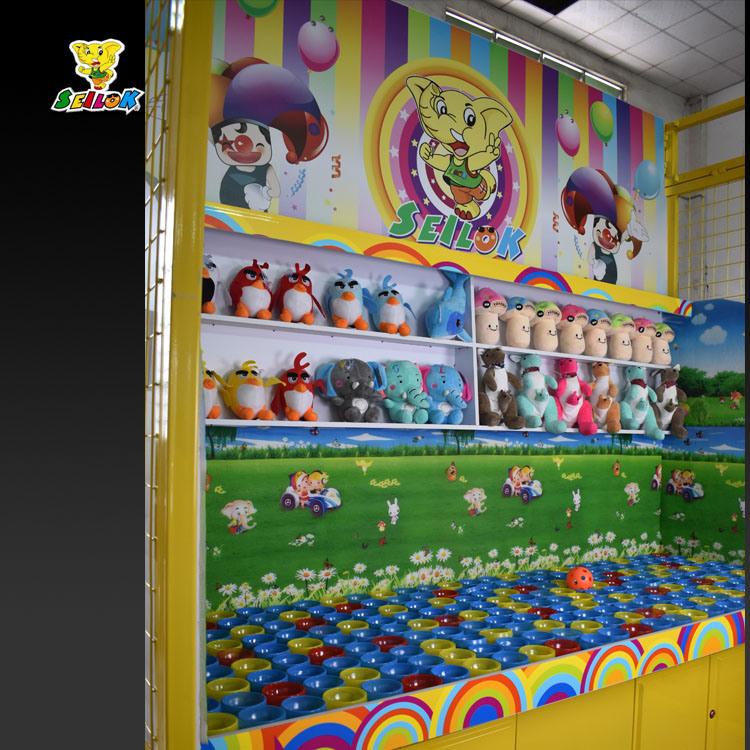 Carnival Game Booth-Ice Cream Cup