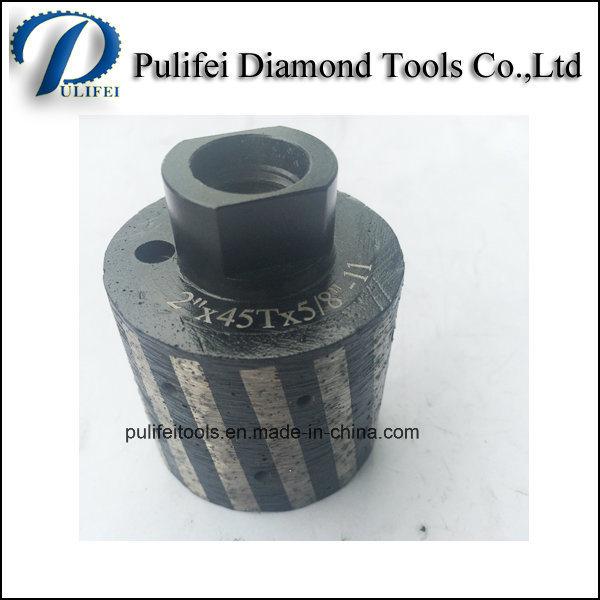 50mm 75mm 100mm Diamond Drum Wheel for Grinding Stone