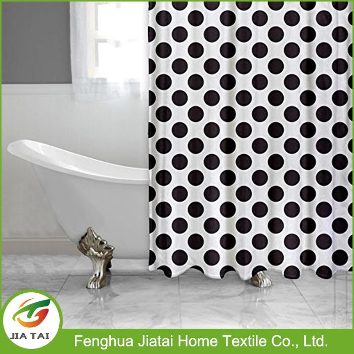 Contemporary Polka DOT Shower Curtain Custom Shower Curtain
