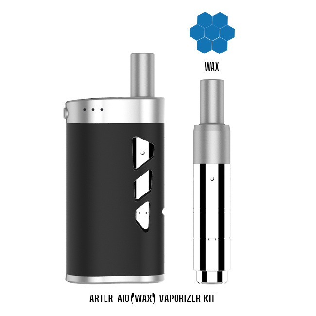 The Mini Cigarette Can Use for Wax & Dry Herb & Eliquid with 1800mAh Battery Capacity