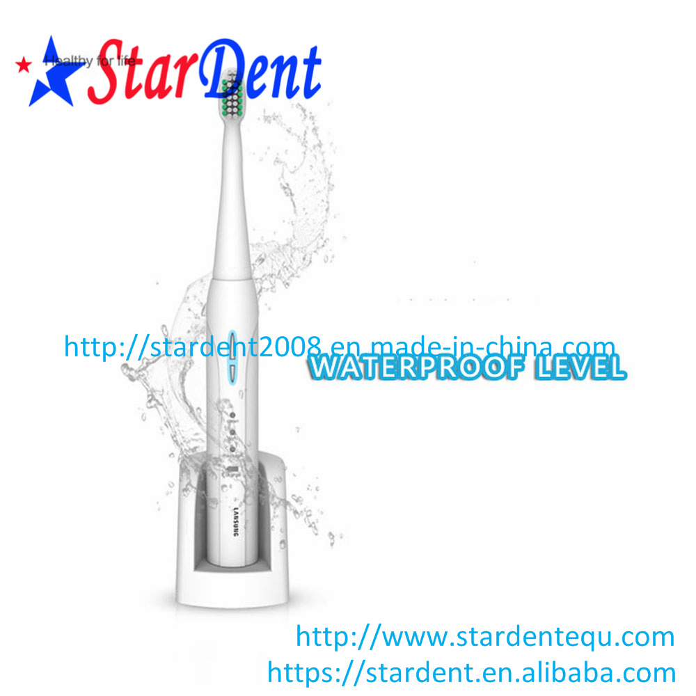 3 Cleaning Modes White Clean Sensitive Sonic Electric Toothbrush