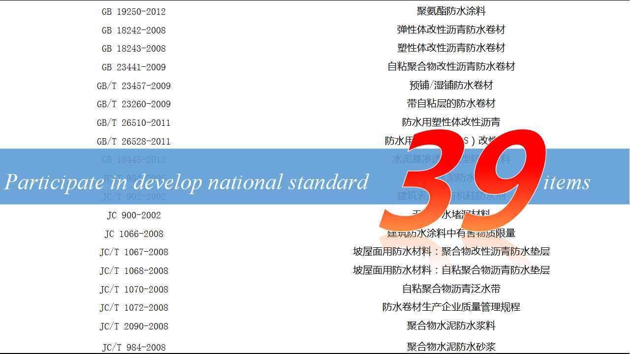 Apf-P Pre-Applied/Wet-Applied Self-Adhesive HDPE/EVA Waterproof Membrane
