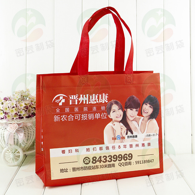 China Manufacturer Non Woven Ultrasonic Bag Shopping Bag