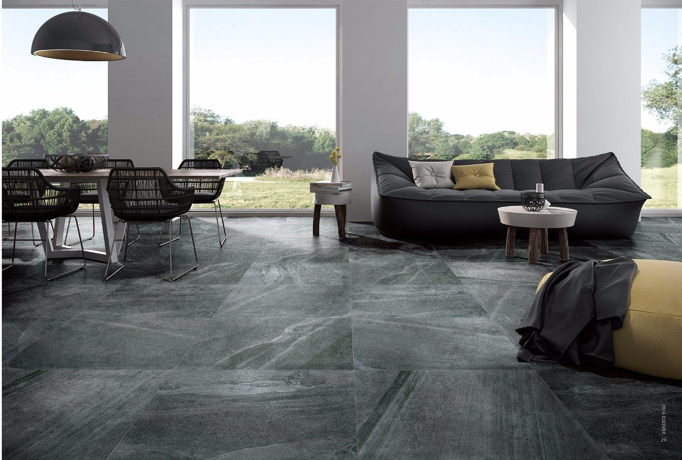 Stone Design Glazed Porcelain Tiles for Floor and Wall 600X600mm (TK04)