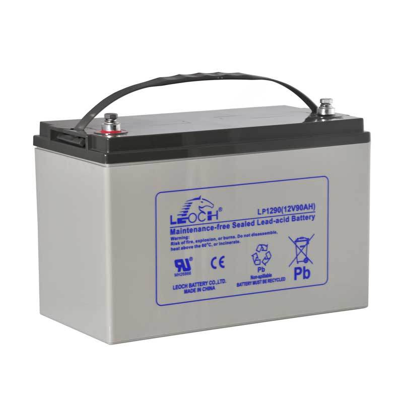 Leoch 12V 90ah UPS Battery Telecom Battery Solar Battery