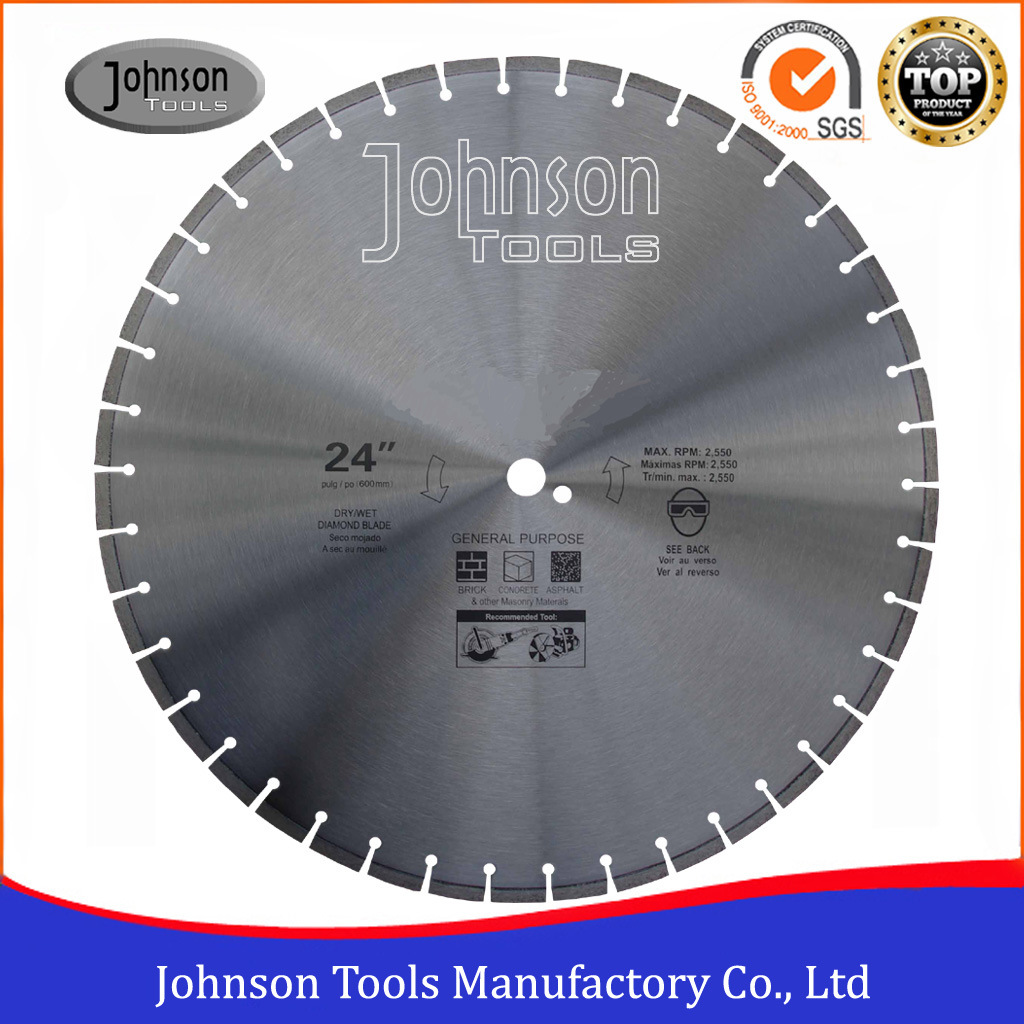 600mm Diamond Road Saw Cutting for Reinforced Concrete and Asphalt