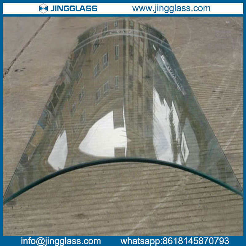 Low Iron Curved Tempered Sgp Laminated Glass Manufacturer