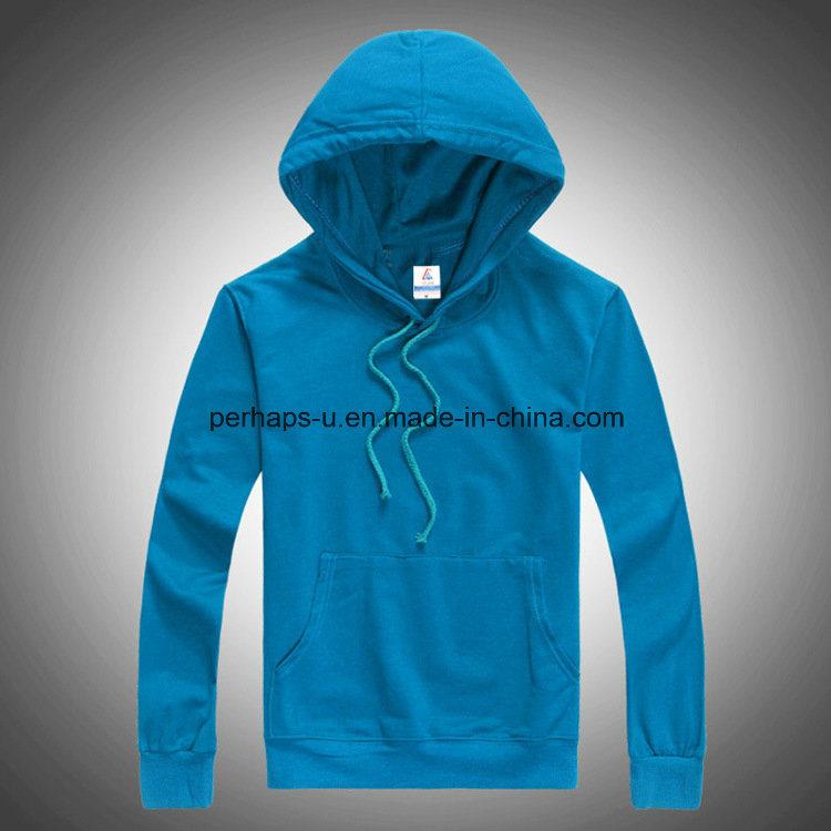 Fashion Pure Color Men Sweatshirts Long Sleeve Hoodie Apparel