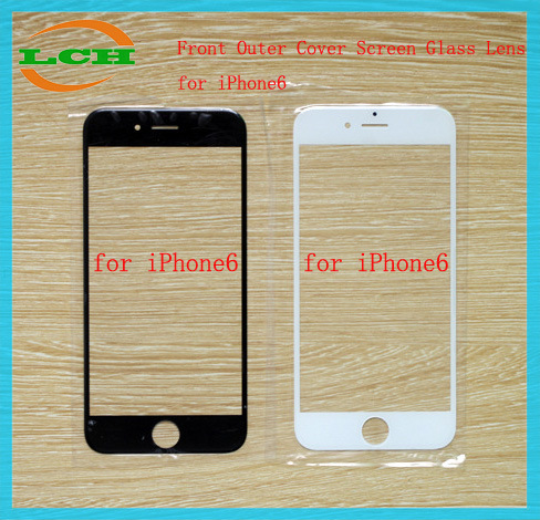 "Front Outer Cover Screen Glass Lens for iPhone6 (4.7"")"