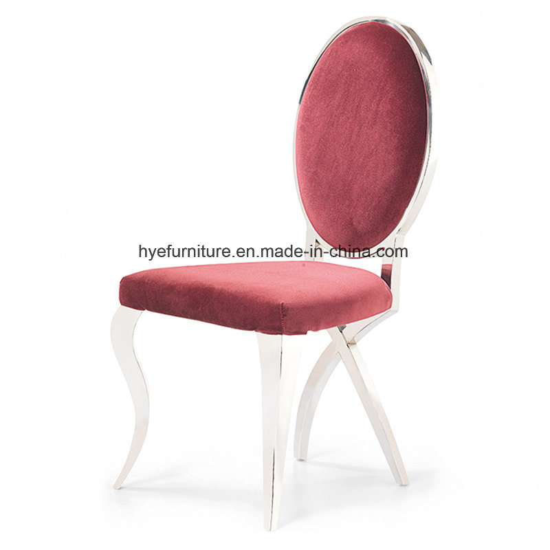 European Leisure Dining Furniture Fabric Dining Chair