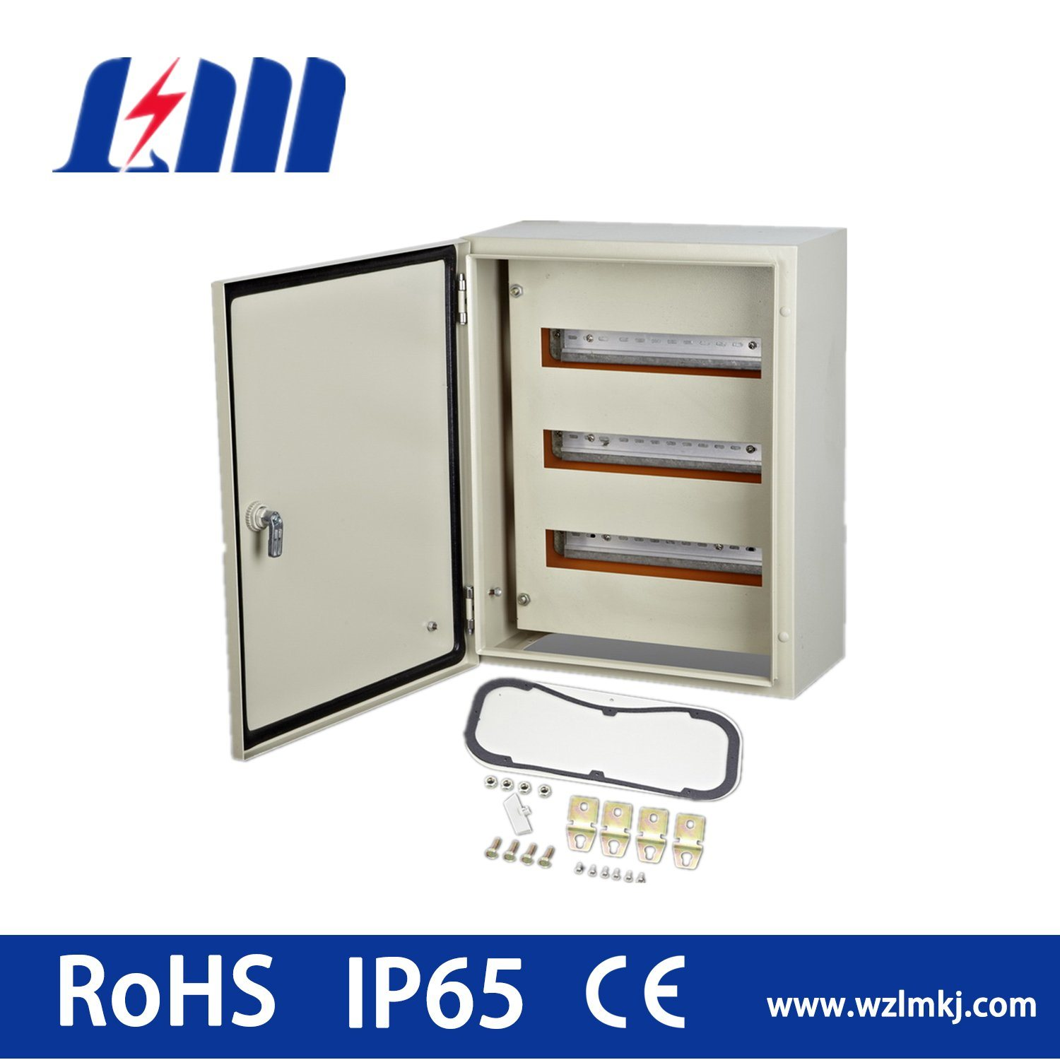 Module Kit for Wall Mount Enclosure/Distribution Box with Rail